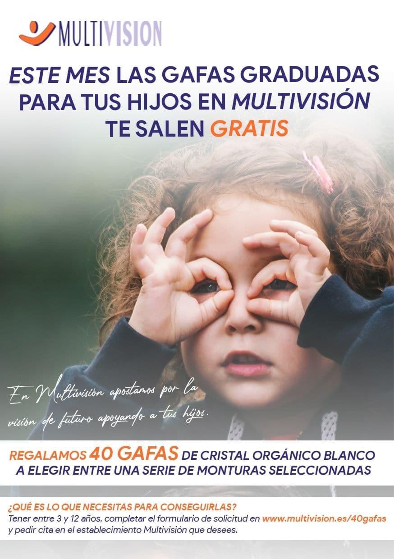 Promoción Multivisión regalamos 40 gafas