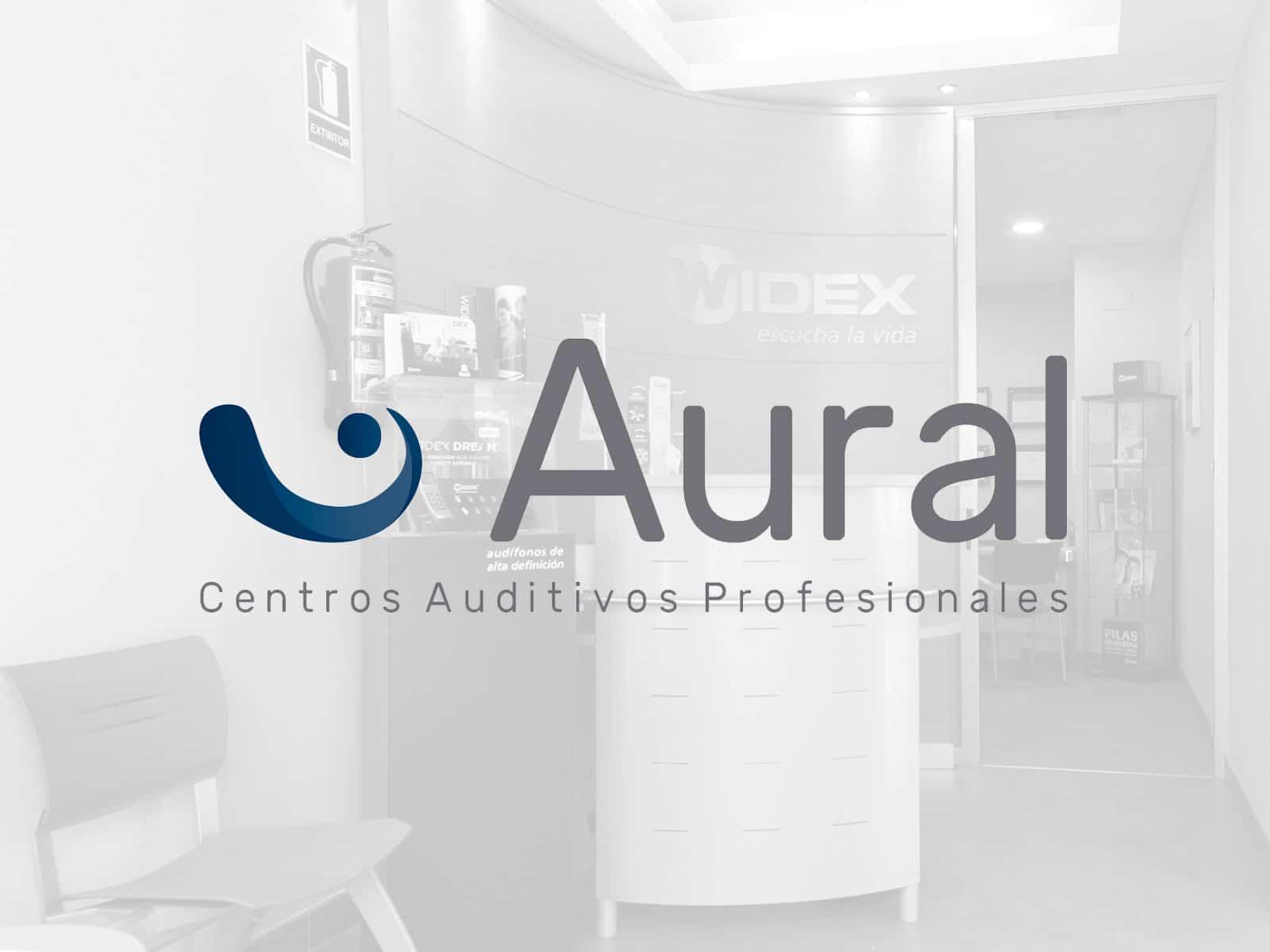 Logotipo AURAL centros auditivos profesionales