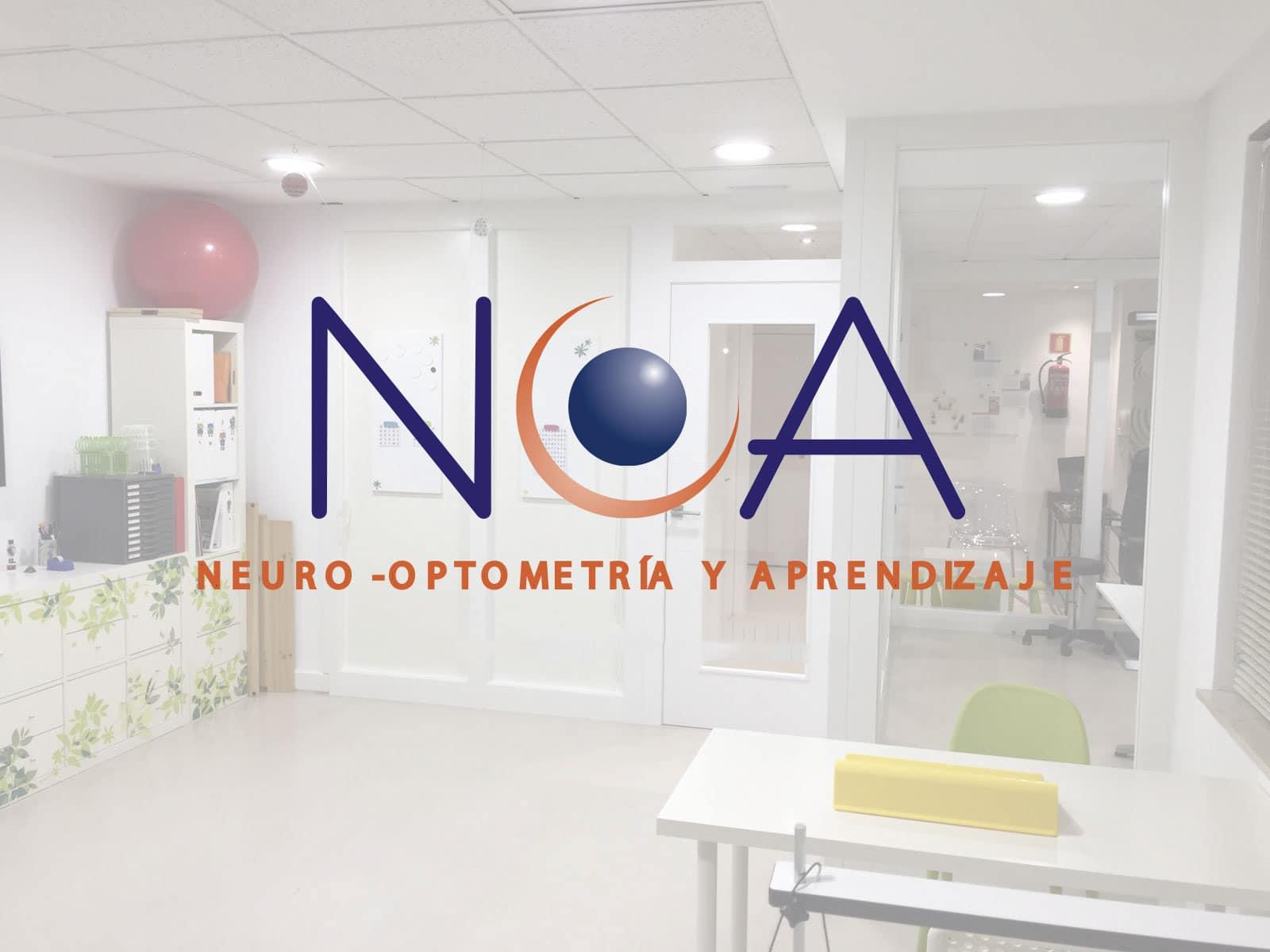 Logotipo NOA neuro-optometría y aprendizaje